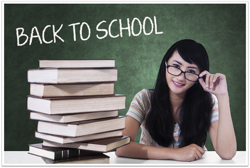 Tick Tock – It's Back to School Time!