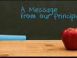 A Message from Principal Feher