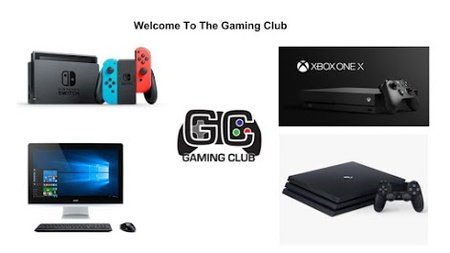 gaming club consoles